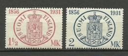 FINLAND FINNLAND 1931 Michel 167 - 168 * - Finland
