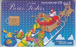 PORTUGAL - PHONE CARD - TAXCARD - CHIP    ***  PÈRE-NOËL  *** - Portugal