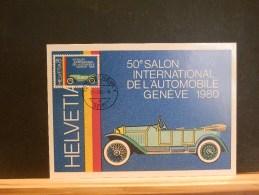 64/163  MAXI CARTE  SUISSE - Auto's