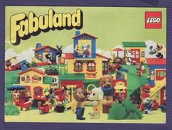 Livret Lego Fabuland 1982 - Catalogs