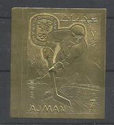 AJMAN  OLIMPIADAS GOLD  MNH  ** - Ajman