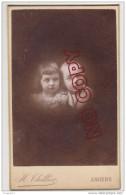 Au Plus Rapide Photo CDV XIX ème Siècle Photographe Thillier Angers Portrait Enfant - Photos