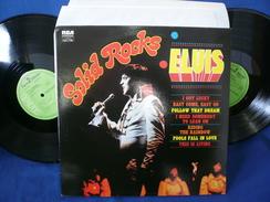 """Elvis Presley""""33t X2 Vinyle""""Elvis Solid Rocks"""" - Rock"""
