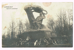 Warszawa - Pomnik Chopina - Varsovie - Warsaw - Pologne