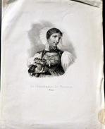SUISSE SWISS  COSTUMES VIEUX METIERS LA MARCHANDE DE FRAISES  A SOLEURE HALLER A BERNE - Estampes & Gravures