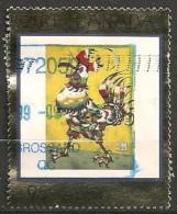 Timbres - Amérique - Canada - 1999 - Coq Licorne -