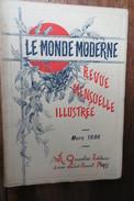 LE MONDE MODERNE 1896 GITES METALIFERES ALPES,METRO PARIS,CHIENS COURANTS, - Non Classificati
