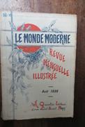 LE MONDE MODERNE 1896 ROUEN EN UN JOUR,NOS HUITRES,ILLUSTRATION PAR LA PHOTOGRAPHIE - Unclassified