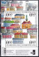 Bloc Feuillet Neuf** - La Vieille Ville De Rauma Patrimoine Mondial - N° 29  (Yvert) - Finlande 2002 - Finlandia