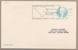 USA - BICENTENNIAL BATTLE Of EUTAW SPRINGS South Carolina - Indépendance USA