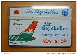 Seychelles SEY-06 Air Seychelles (4.000 Ex.) Plane / Airplane / Air-plane - Seychelles