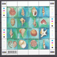 Malta 2003,16V In Sheetlet,shells,schelpen,schalen,coquilles,conchas ,conchiglie,,MNH/Postfris(L2858) - Schelpen
