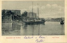 CART. VIAGGIATA CORFU' / CORFOU - SAINT NICOLA - Grèce