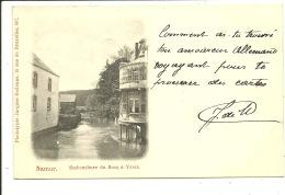 Yvoir Namur Embouchure Du Bocq à Yvoir ( 1899 ) - Yvoir