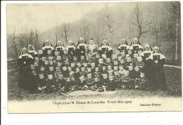 Yvoir Orphelinat  Notre Dame De Lourdes Mai 1907 - Yvoir