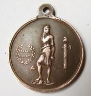 Médaille -  24 Février 1848 - Travail - Liberté - Franc Maçon ? - Monétaires / De Nécessité