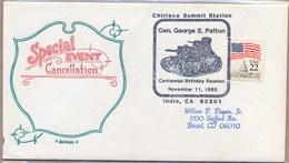USA - WWII - Gen. GEORGE PATTON BIRTHDAY - TANK - Guerre Mondiale (Seconde)
