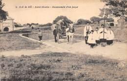 17 - CHARENTE MARITIME - Ile De Ré - Saint Martin - Enterrement D'un Forçat - Ile De Ré