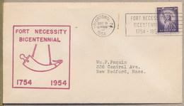 USA - FORT NECESSITY BICENTENNIAL 1954 - Indépendance USA