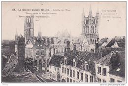 CPA Ypres Après Le Bombardement - La Grande Guerre 1914-15 - Postes Militaires Belgique - 1916 (22613) - Ieper