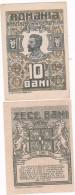 Roumanie Romania Rumänien 10 Bani 1917 UNC - Romania