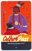 New Mexico Culture Pass Advert,  Used Magnetic Hotel Room Key Card # K-2007 - Cartes D'hotel