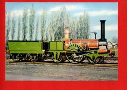 """Train - Chemin De Fer - Locomotive """"BUDDICOM """" , N°33, Paris à Rouen (Photo R.Floquet) - Trains"""