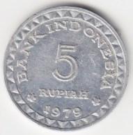 @Y@   Indonesië   5 Rupiah   1979       (3798) - Indonesië
