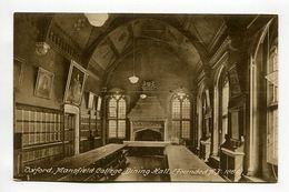 Oxford, Mansfield College, Dining Hall, (FoundedA.D. 1886). - Oxford