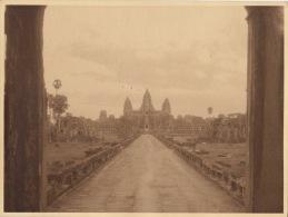 Grande Photo De 1924 Cambodge Hangkor - Places