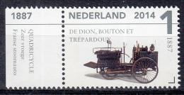 Nederland - Klassiekers - Louwman Museum - De Dion, Bouton Et Trépardoux 1887 - Postfris/MNH - NVPH 3155 - Periode 2013-... (Willem-Alexander)