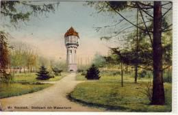 WR. NEUSTADT  Stadtpark Mit Wasserturm  Gel - Wiener Neustadt