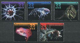 181 ETATS UNIS (USA) 2000 - Yvert 3130/34 - Faune Marine Poisson Meduse  - Neuf ** (MNH) Sans Trace De Charniere - Vereinigte Staaten