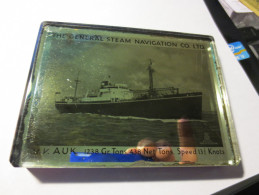 Marine - Presse - Papiers - Compagnie : The Général Steam Navigation Co. LTD - M.V AUK  - - Presse-papiers