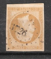 Empire N° 13 A Obl Pc 3726 Bureau D'Algérie De MASCARA , Indice 13, TB - 1853-1860 Napoléon III