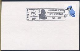 JOHN PAUL JONES - United States' First Well-known Naval Fighter In The American Revolution. - Unabhängigkeit USA
