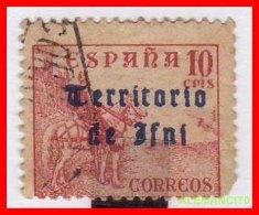 ESPAÑA -  COLONIA  ESPAÑOLA IFNI  SELLO  AÑO 1948 - Ifni
