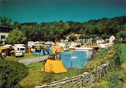 """CPM (34)  LA SALVETAT Sur AGOUT Camping De """"La Balquière"""" Caravane Toile De Tente - La Salvetat"""