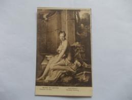 MUSÉE DU LOUVRE Santerre Suzanne Au Bain - Musei