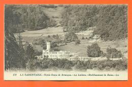 """CPA 73  La Lechère  """" Etablissement Des Bains """" LJCP 6 - Other Municipalities"""