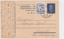 CROATIA - HRVATSKA - DOPISNICA - TITO 1952 - Kroatien