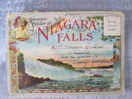 NIAGARA FALLS . CARNET - Canada