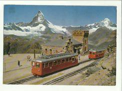 134921 STATION GORNERGRAT ZERMATT MATTERHORN - Stazioni Senza Treni