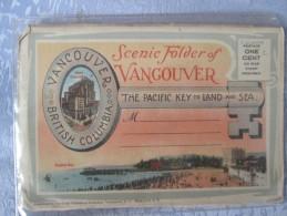 SCENIC FOLDER OF VANCOUVER . CARNET - Canada