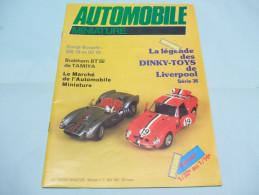 Magazine AUTOMOBILE MINIATURE N°3 Mai 1984 - Literature & DVD