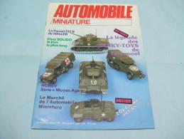 Magazine AUTOMOBILE MINIATURE N°4 Juin 1984 - Literature & DVD
