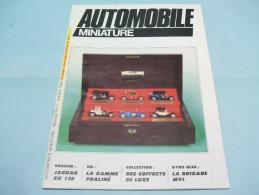 Magazine AUTOMOBILE MINIATURE N°7 Octobre 1984 - Literature & DVD