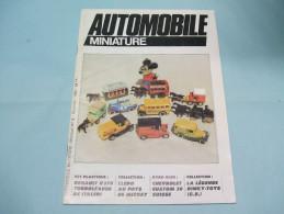 Magazine AUTOMOBILE MINIATURE N°9 Décembre 1984 - Littérature & DVD