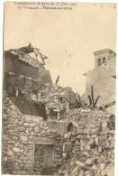 13/ Venelles Maison En Ruines - Tremblement De Terre Du 11 Juin 1909 - Other Municipalities