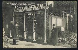 PARIS  - CPA  LA COMPAGNIE D'ORLEANS Au CONCOURS GENERAL AGRICOLE  De 1914-  Recto Verso -Paypal Sans Frais - Autres